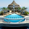 Luxury Tropical Island Paradise Yacht
