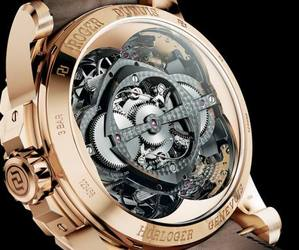 Luxury watch is a marvel of engineering