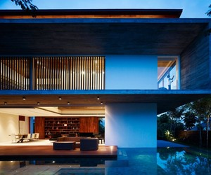 M House in Singapore by ONG&ONG