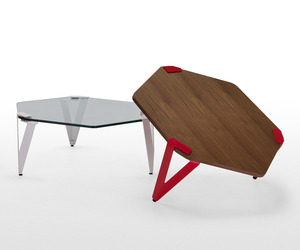 Hexag Designer Coffee Tables from MADE.COM