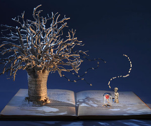 Magical Book Sculptures