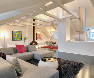 Magnificent and Lavish Loft Interiors in Sweden