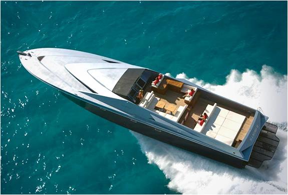 Magnum Marine 80 Speedboat By Pininfarina