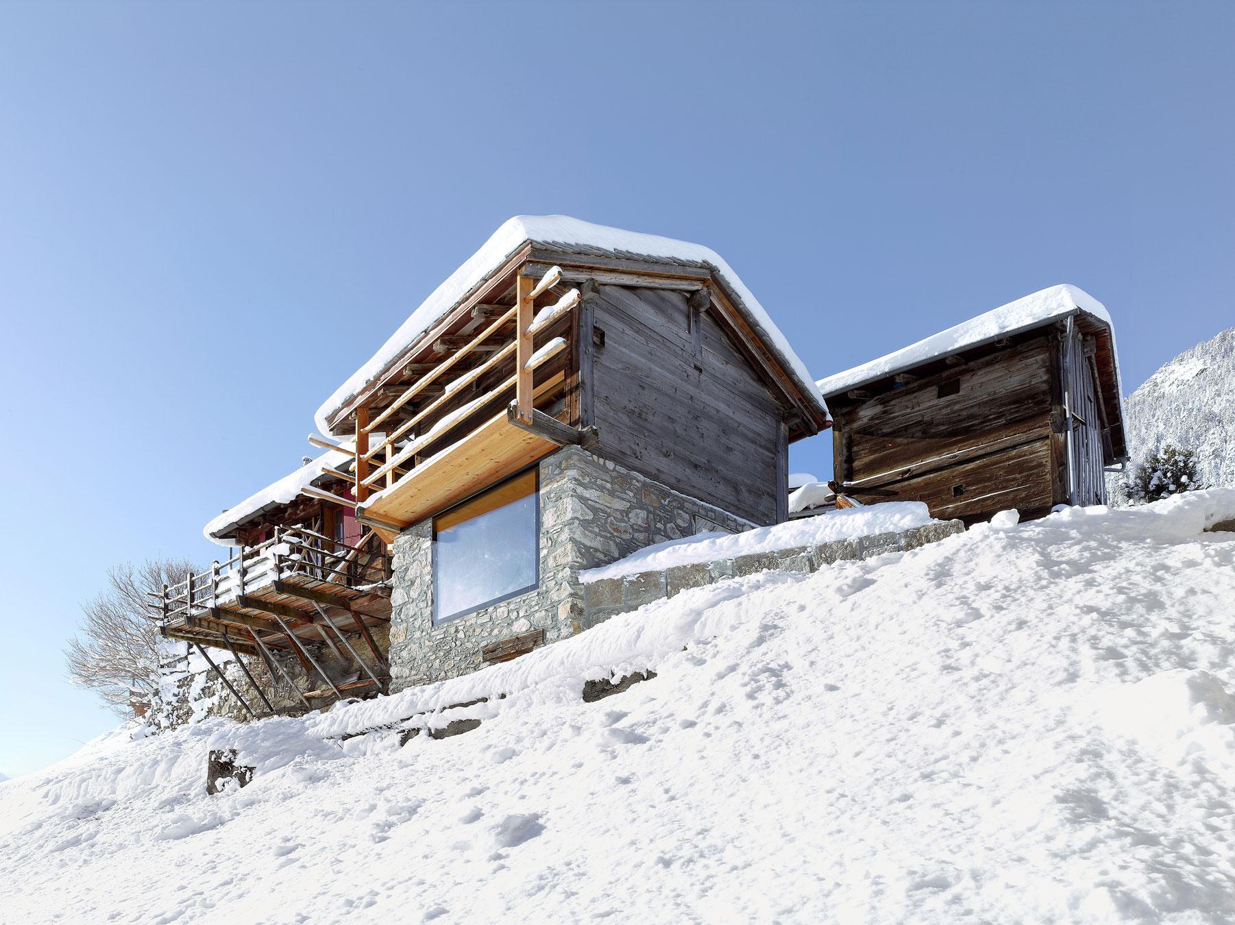 Maison boisset by savioz fabrizzi architectes - Best architectes ...