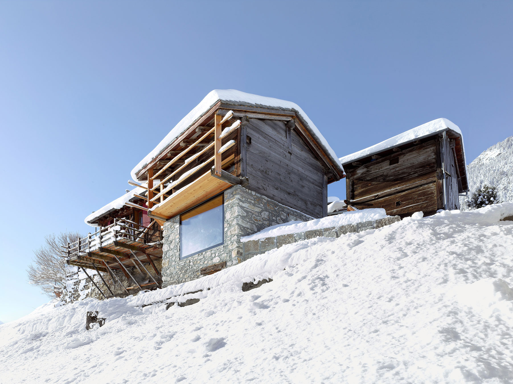 Maison Boisset By Savioz Fabrizzi Architectes