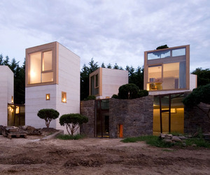Maison L, an amazing concrete house