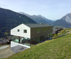Maison Val D'Entremont on the Swiss Alps