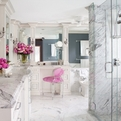 Majestic and luxurious bathroom