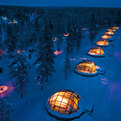Majestic Glass Igloo Hotel in Finland