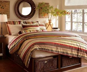 For Inspiration: Cool Bedroom Looks With Stripes