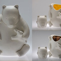 Mama Bear Cookie Jar by Tom Otterness