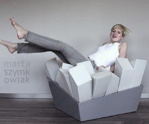 Manet Armchair by Marta Szymkowiak