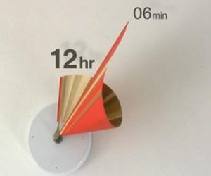 Manifold 3D Clock