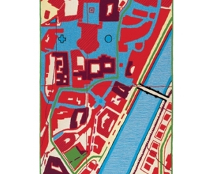 Map Carpet by Harry Allen