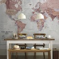 Map Wall Art For The Home