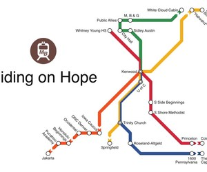 Mapuccino: A Subway Map of Your Life