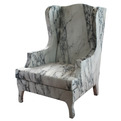 Marble Armchair by Maurizo Galante