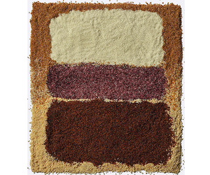 Mark Rothko Paintings Recreated In Rice | Henry Hargreaves