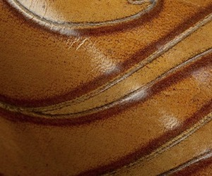 Marquetry, Embossed Leather