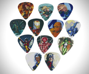 Marvel Guitar Picks