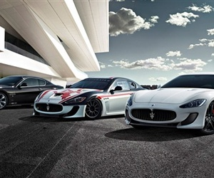Maserati Rolls Out GranTurismo and GranCabrio