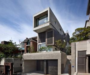 Massive Three-Level Family Residence in South Korea