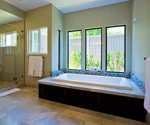 Master Bathroom in Los Altos Hills, California