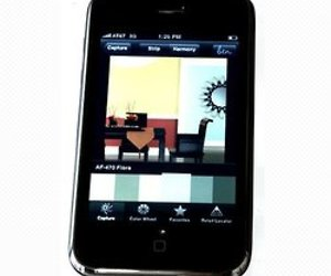 Match colors to Benjamin Moore Paints with your iPhone