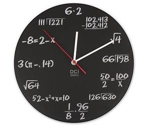 Math Clock from ThinkGeek