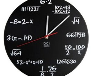 Math Wiz Clock