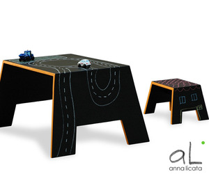 Mavalà Blackboard Table by Anna Licata