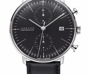 Max Bill Chronoscope Wrist Watch by Junghans