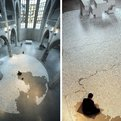 Mazes Made From 2,200 Pounds Of Salt