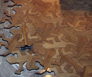 MC Escher Geometric Reptile Flooring