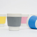 """Tasse"" McDonalds France Eco-Friendly Coffee Cups"