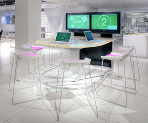 Media:Scape collaboration furniture by Steelcase