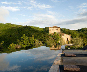Medieval Watchtower Converted into Hotel: Torre di Moravola