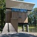 Meditation Hut by Jeffery S. Poss Architect