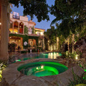 Mediterranean Villa with a Moorish Flair