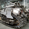 Megatron Tank Steel Sculpture