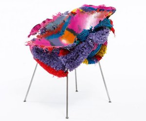 Meltdown Chair: PE stripe