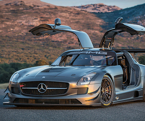 Mercedes SLS AMG GT3 45th Anniversary Edition