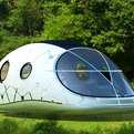 MercuryHouseOne: Sleek Solar-Powered Mobile Lounge