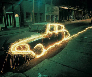Mesmerizing Light Paintings of 1970′s New York City