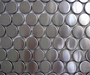 Metal Mosaic Tiles from Diamond Tech