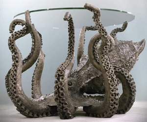 Metal Octopus Table