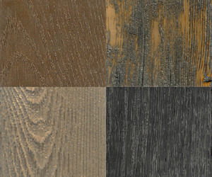 Metalic Wood Flooring by Ebony and Co