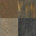 Metalic Wood Flooring by Ebony and Co