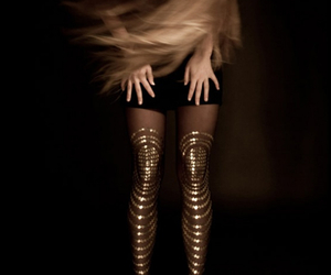 Metallic Tights by Gal Stern