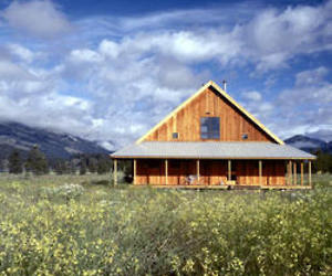 Methow Valley Cabin by Lawrence Architecture